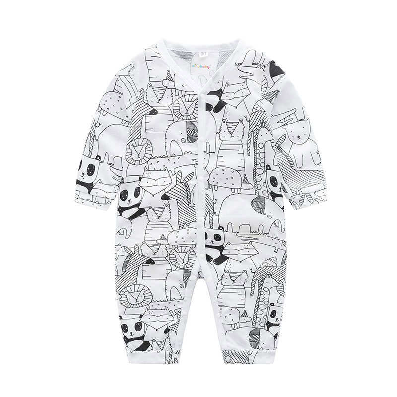 Anime Manga Drawing Cartoon Animal Prints Onesie Romper
